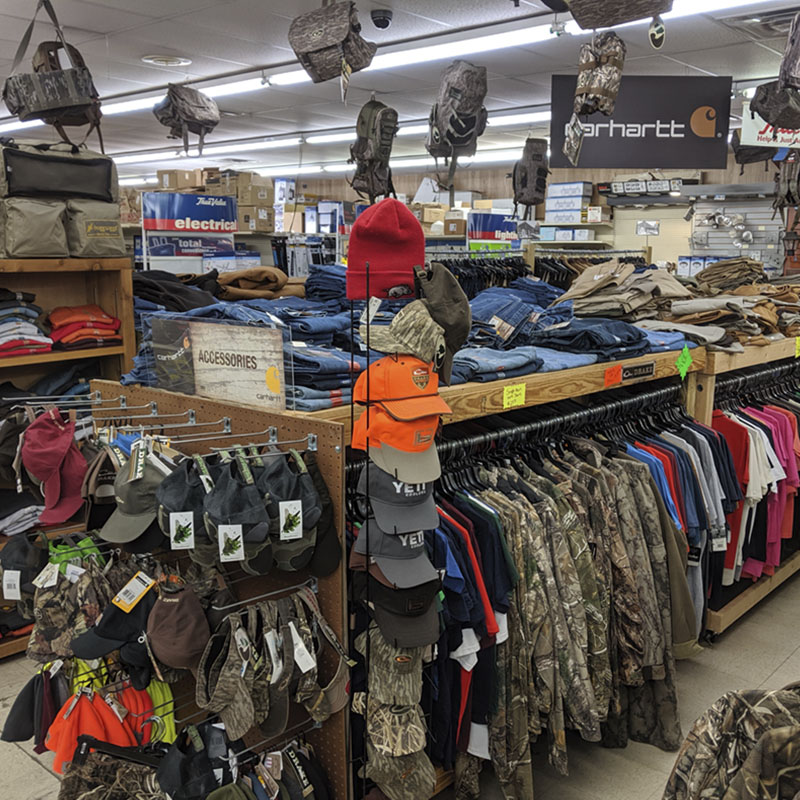 Work and Hunting Apparel